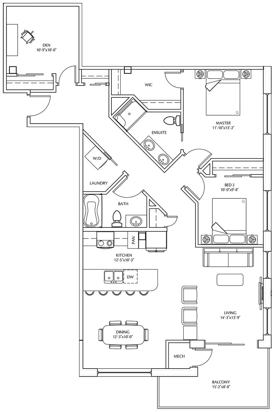 Suite B at LeParc