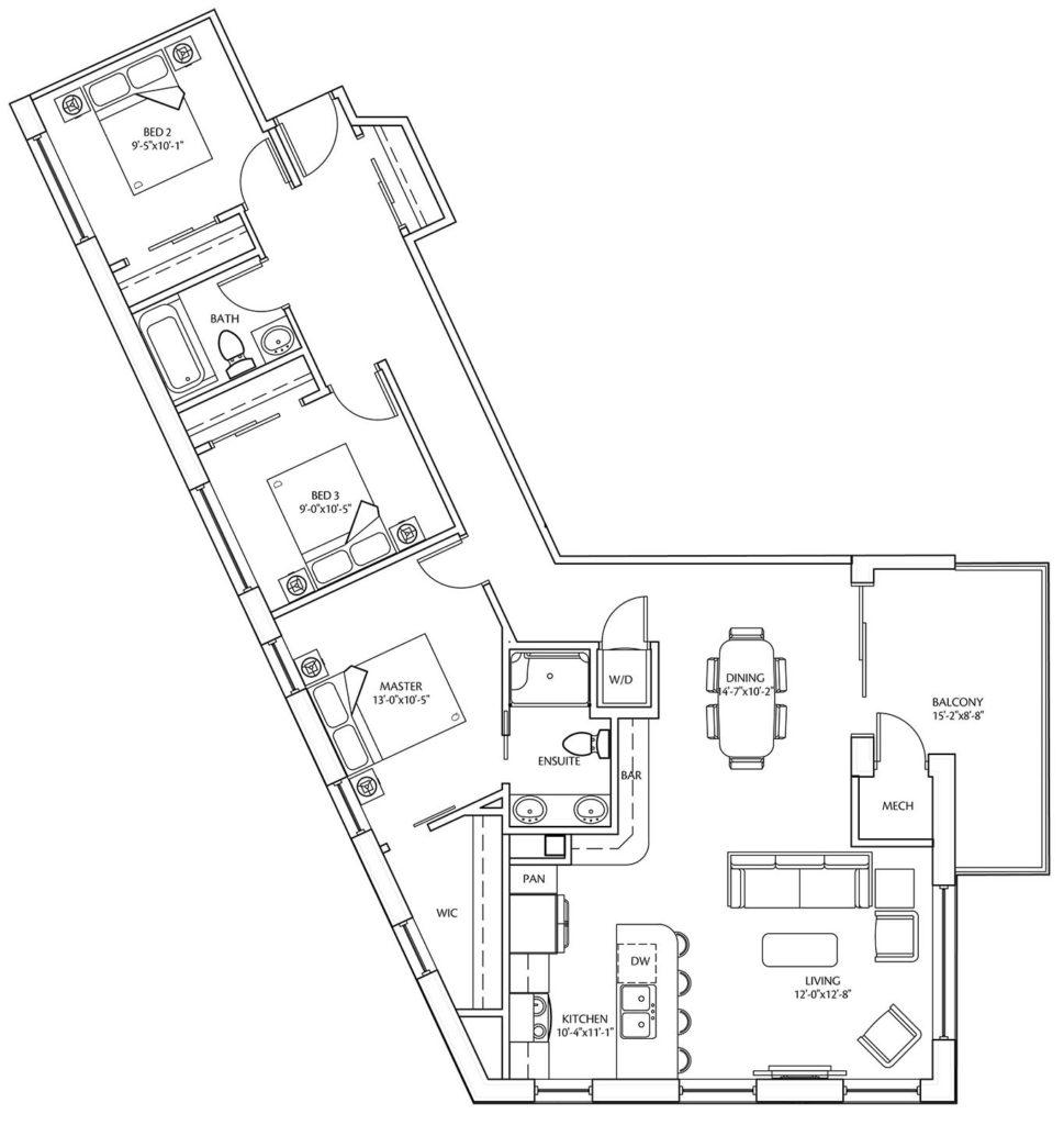 Suite F at LeParc